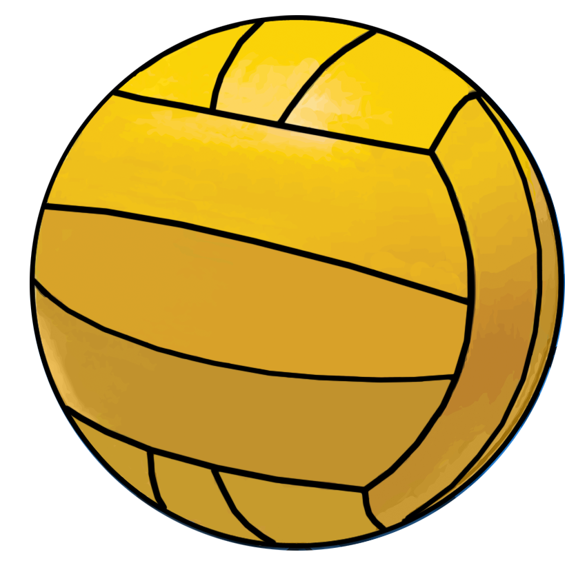 collection of polo. Volleyball clipart water