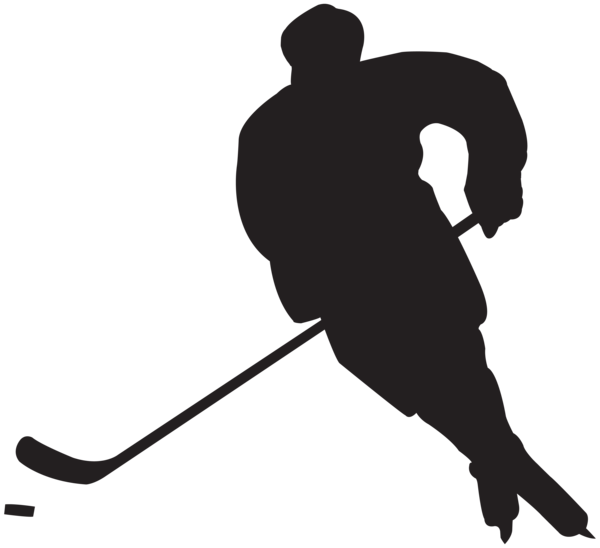 Words clipart hockey. Sticks silhouette at getdrawings
