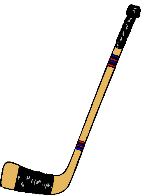 Hockey clipart hockey stick. Free download clip art