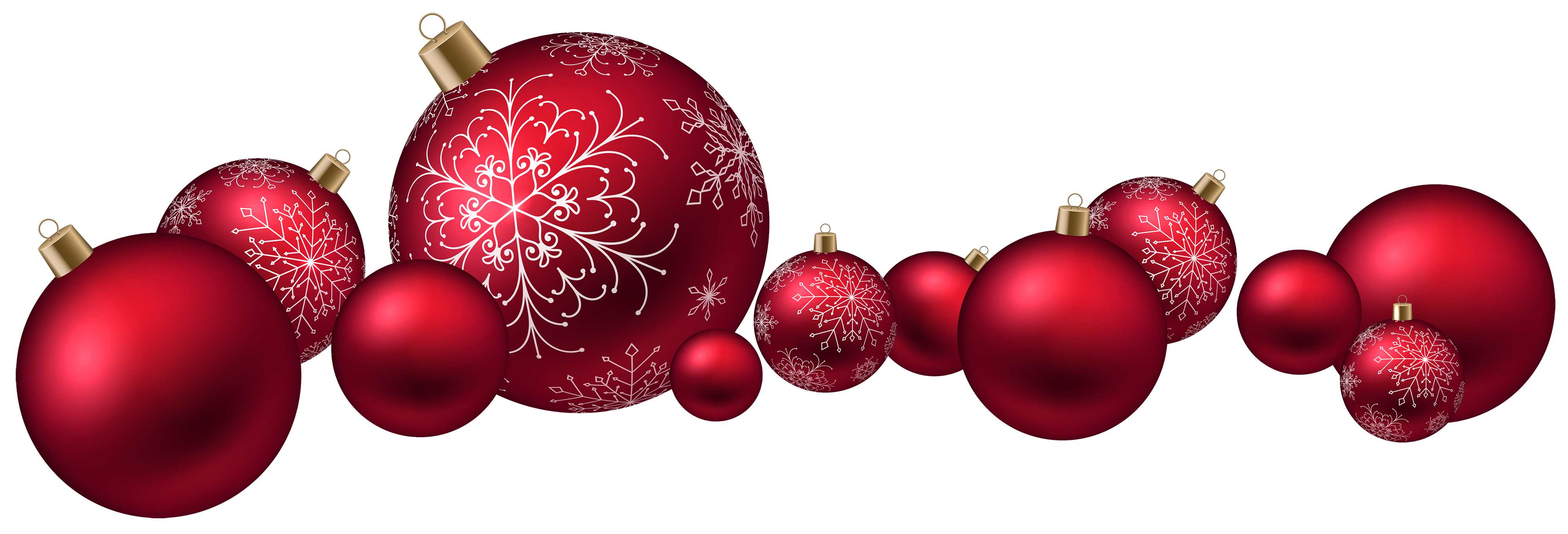 Christmas images png. Red ball clipart best