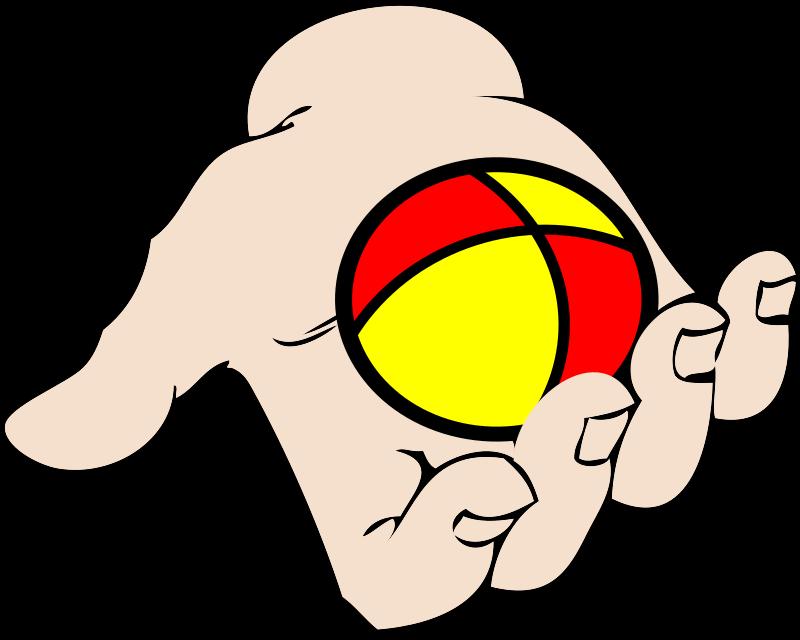 clipart ball juggling