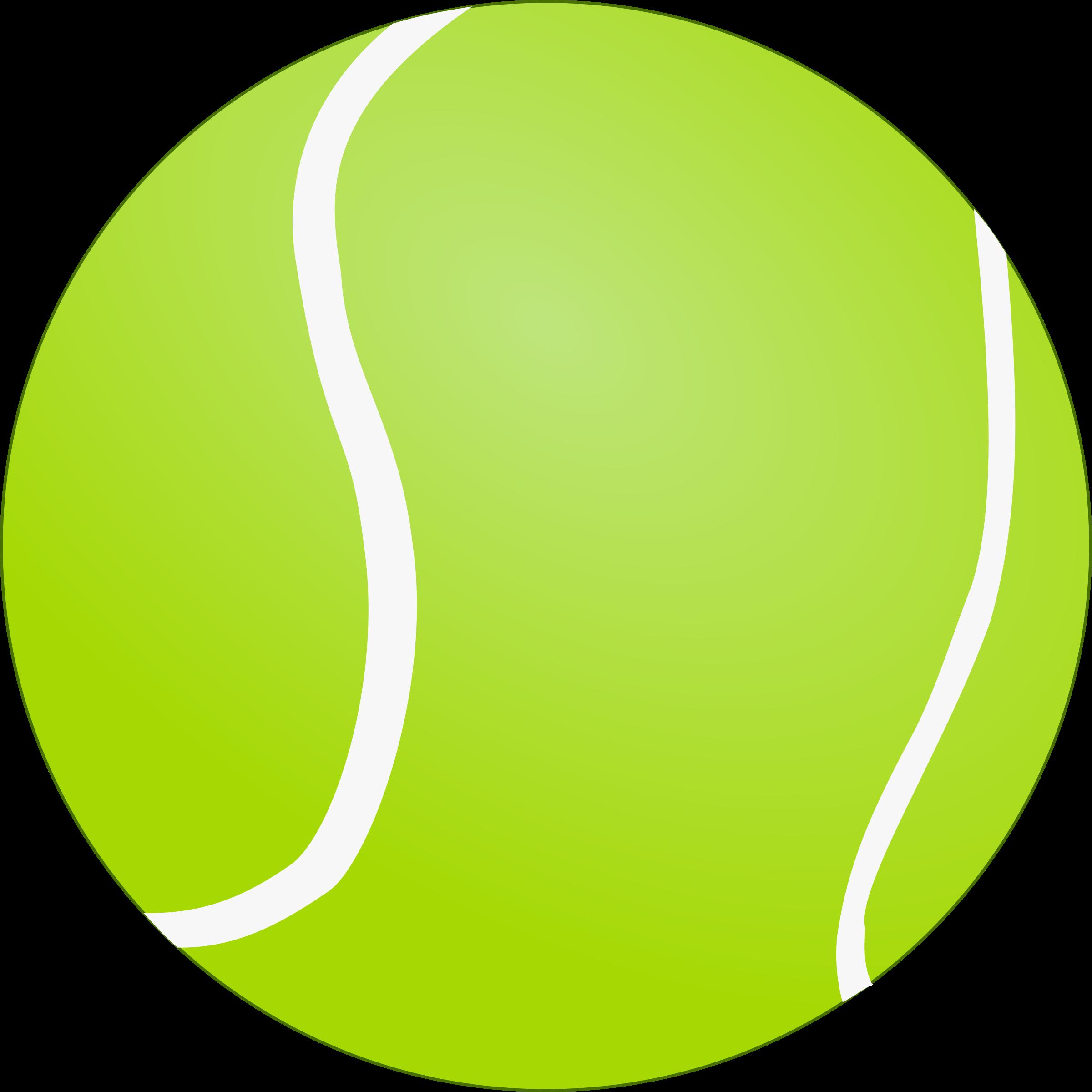 Tennis bola de tenis. Picture clipart ball