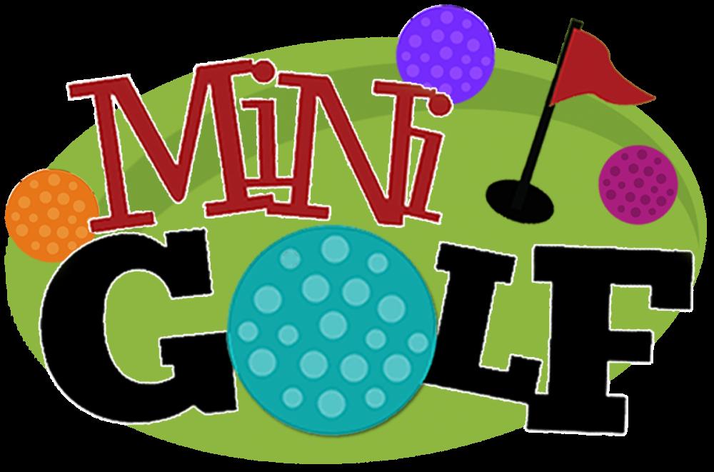 Indoor musical mini golf. Golfing clipart putt putt