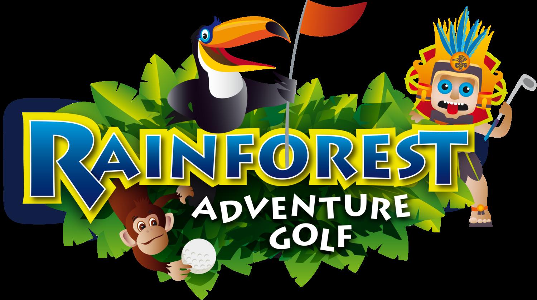 Rainforest adventure . Club clipart miniature golf