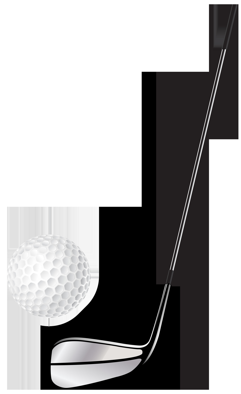 Club stick and png. Clipart grass golf ball