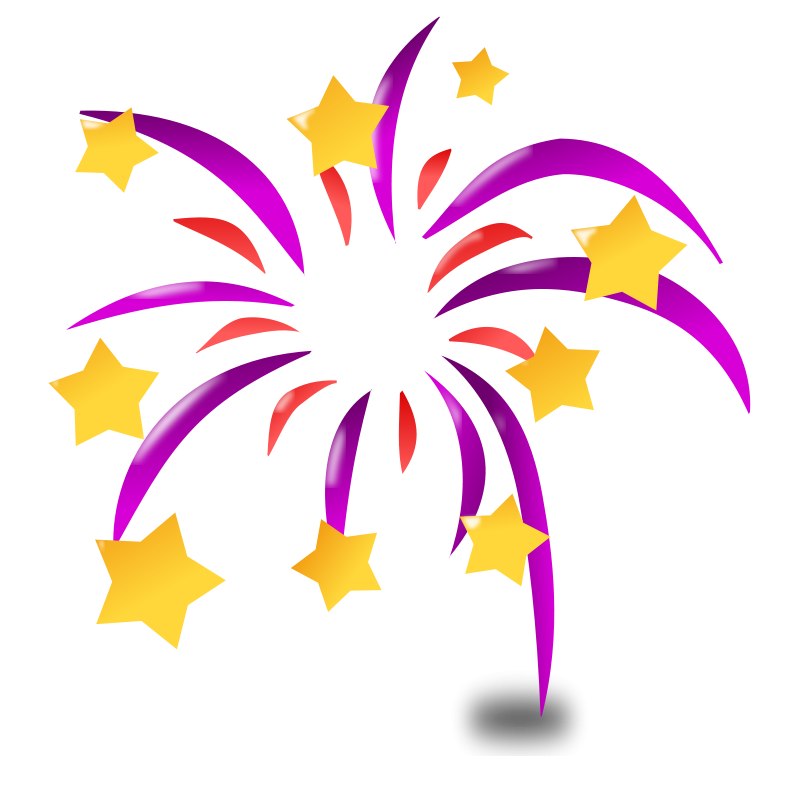 Colorful stars purple an. Glitter clipart fancy star