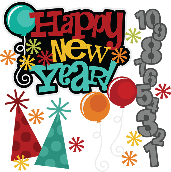 Happy svg free svgs. Disneyland clipart new year