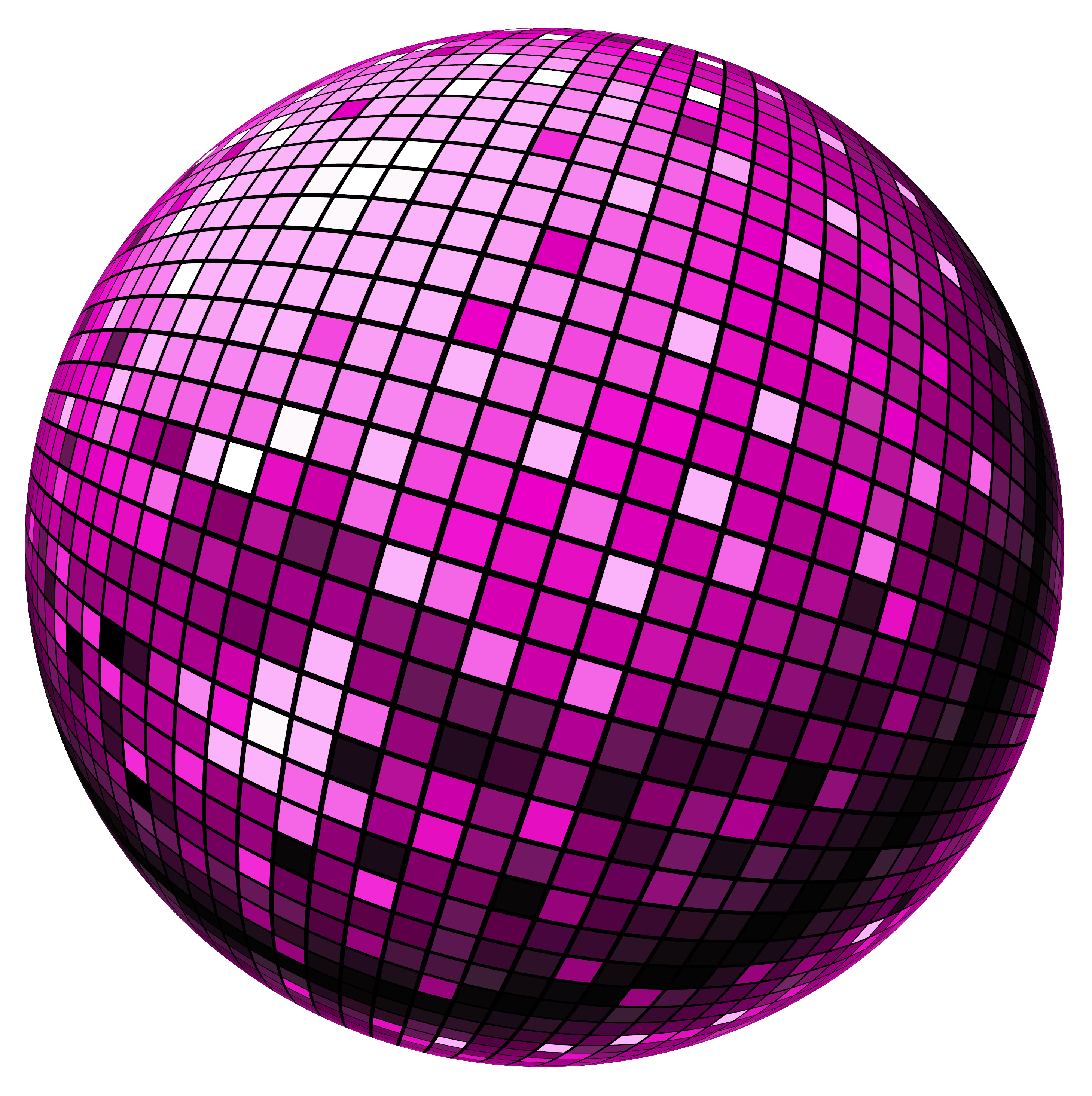 Mirror clipart hollywood. Disco ball png vector