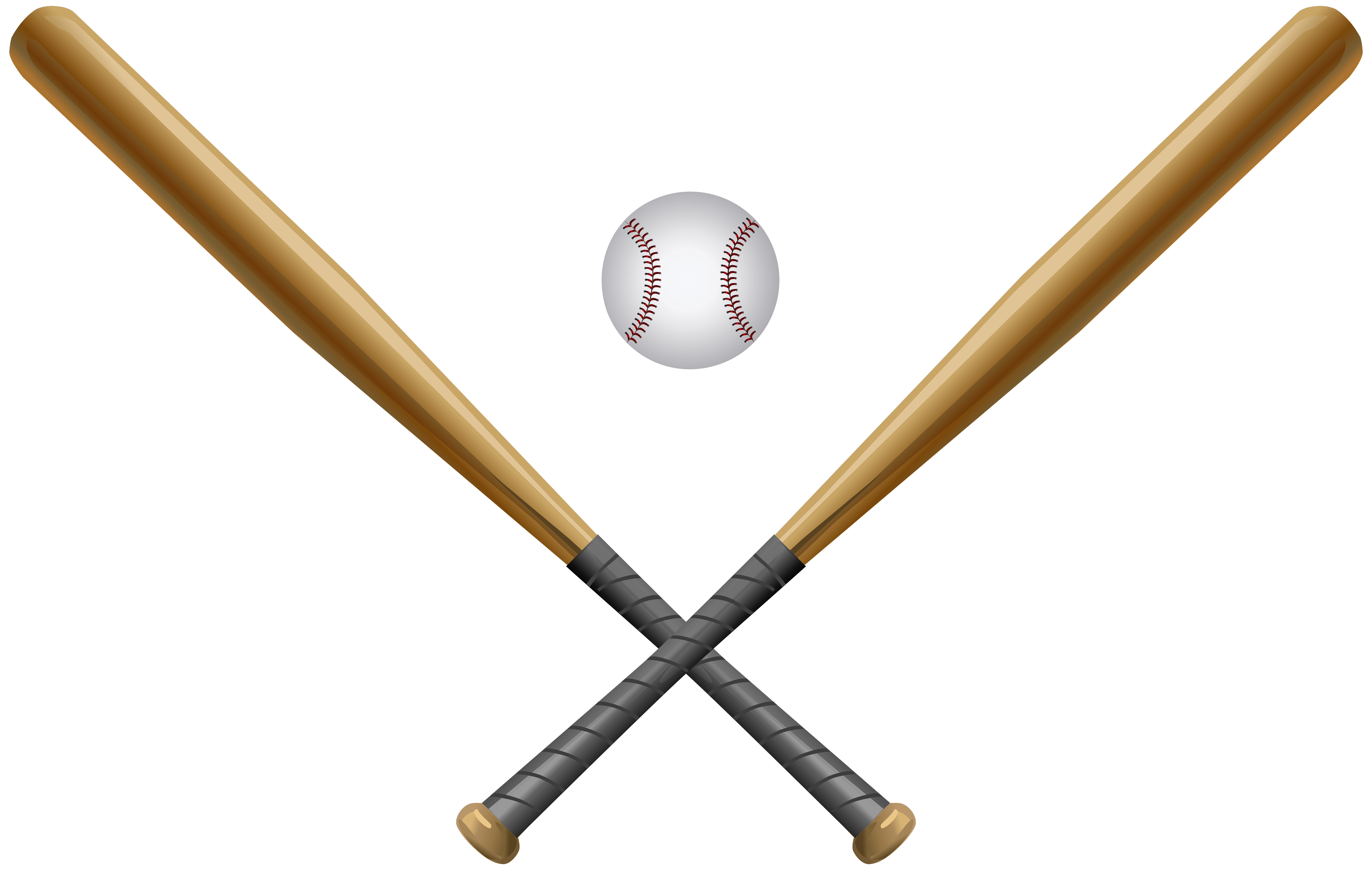 Sports clipart rounders. Baseball set png clip