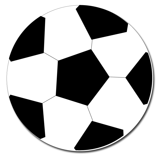 Football simple. Clipart transparent free