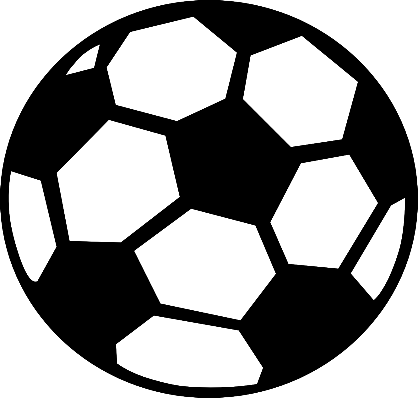 Soccer ball clipart panda. Football vector png