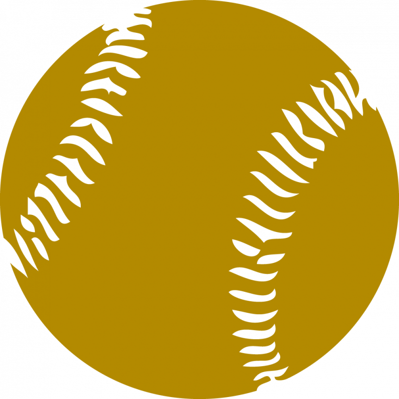 Pink softball