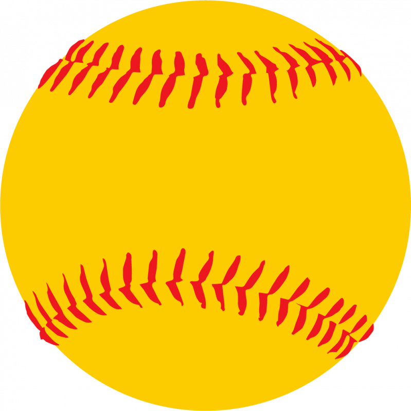 softball clipart girl softball