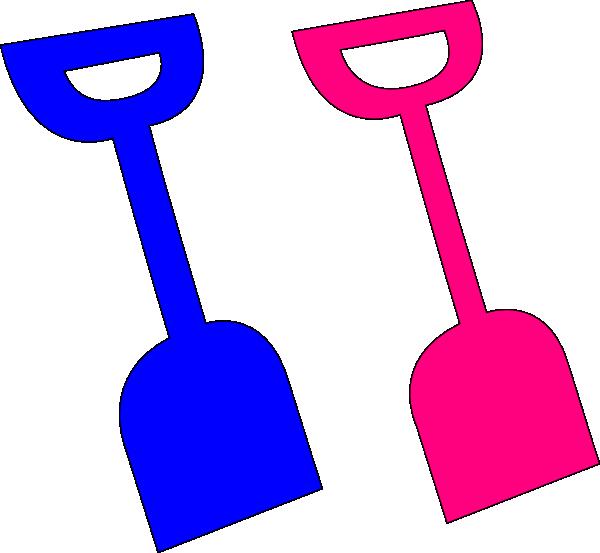 Clipart ball spade. Shovel clip art at