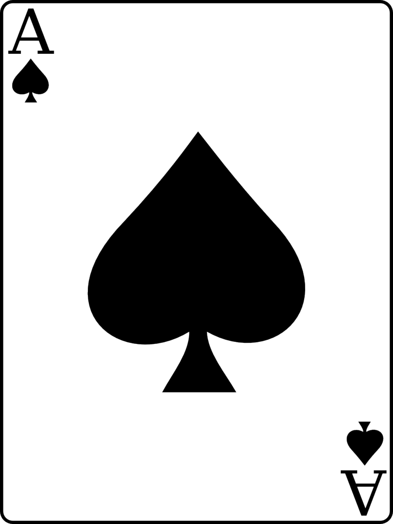 Club clipart spade. Ace of spades favourite