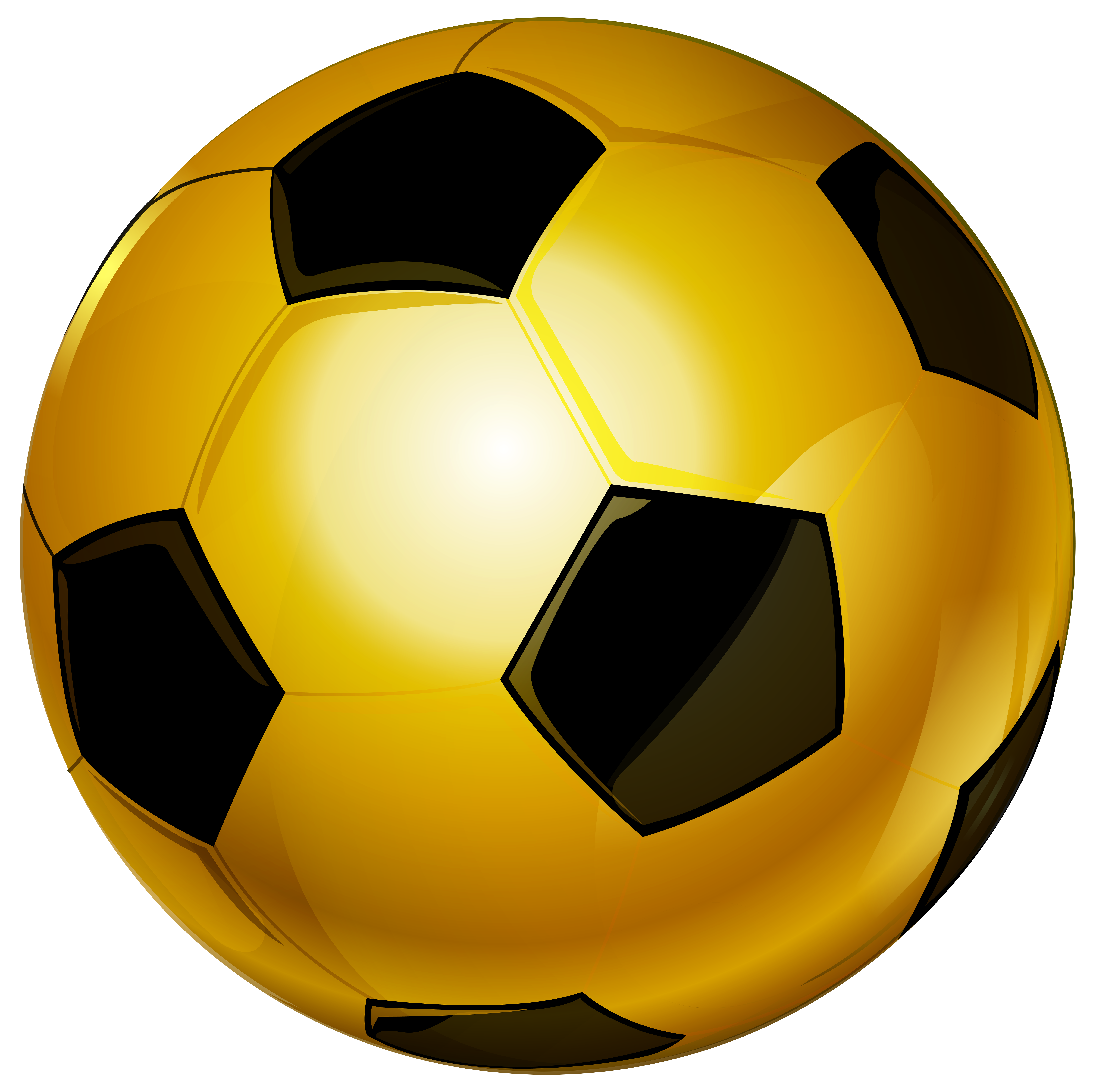 Hearts clipart soccer. Gold ball png clip