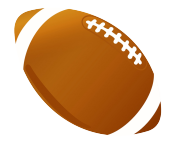 Different kinds of sports. Clipart football clip art