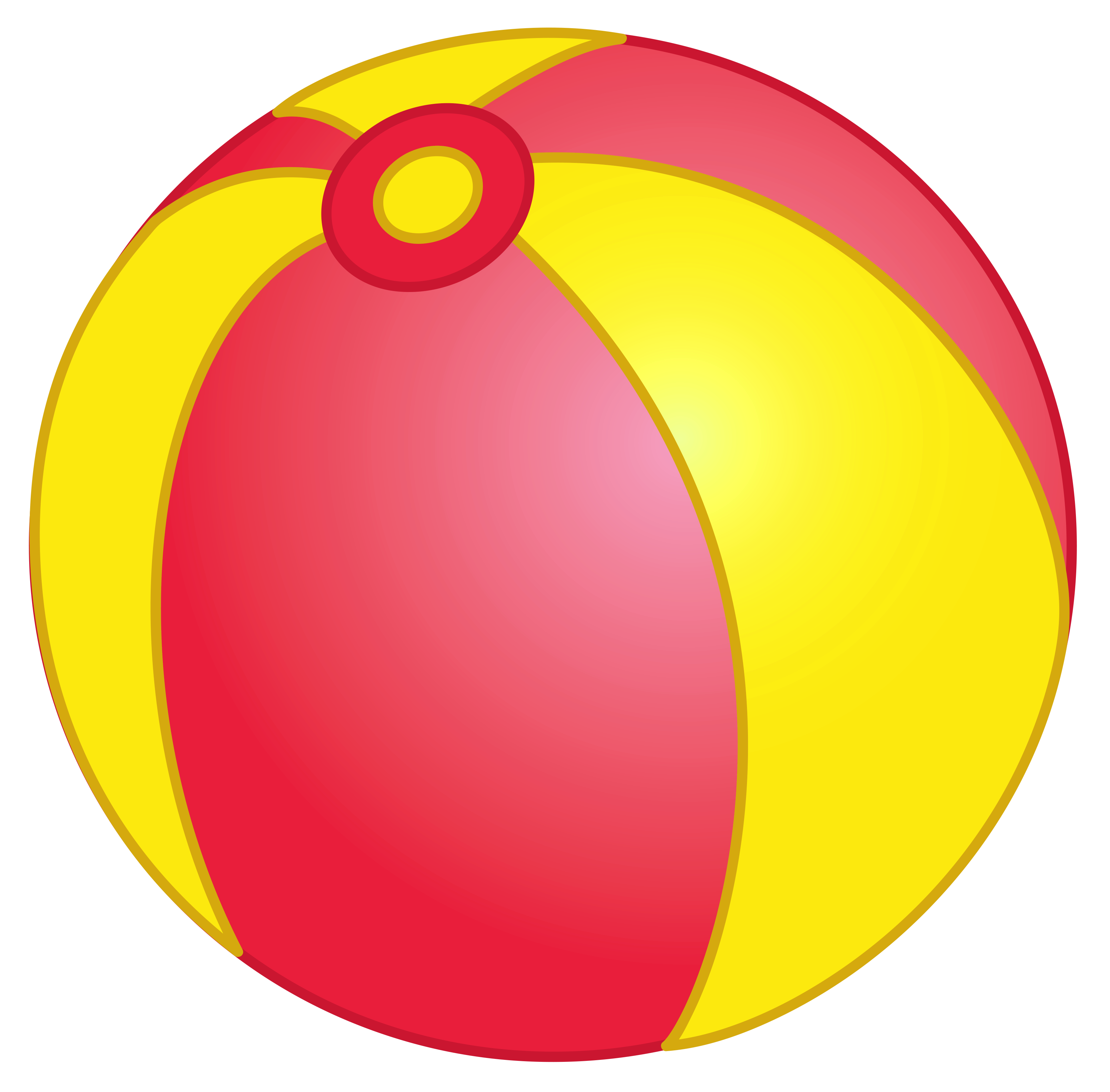 Beach ball png picture. Waves clipart yellow