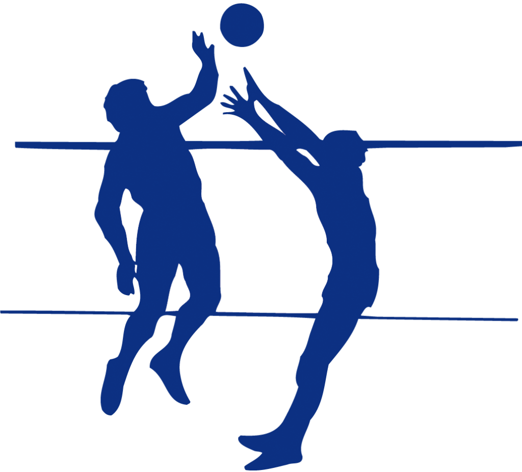 Player silhouette at getdrawings. Clipart volleyball sport