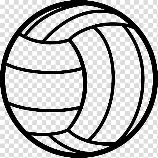Beach sport ball transparent. Clipart volleyball line