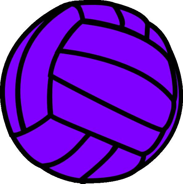 Cool volleyball ball panda. E clipart purple