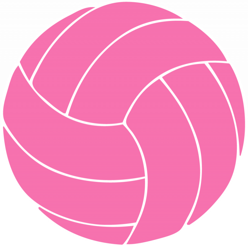 Colors volleyball player