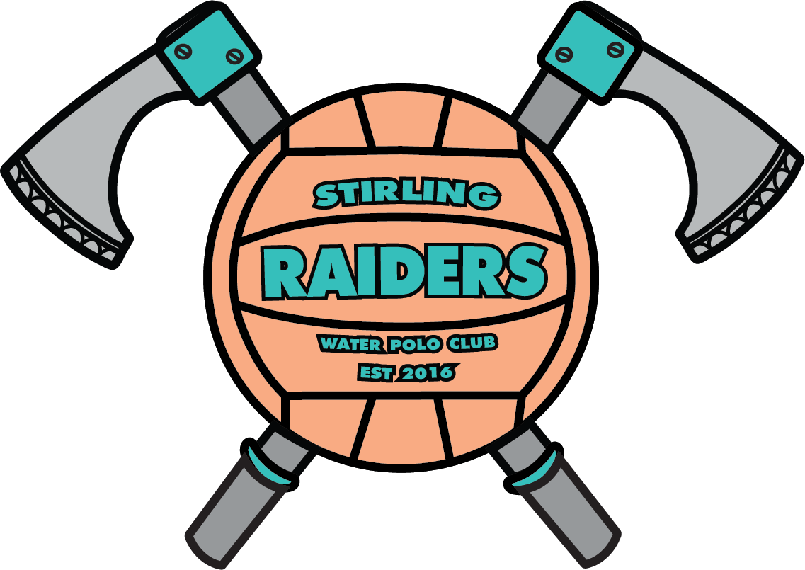 Stirling raiders water polo. Clipart ball waterpolo