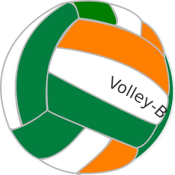 Clipart volleyball vector. Volley ball india clip