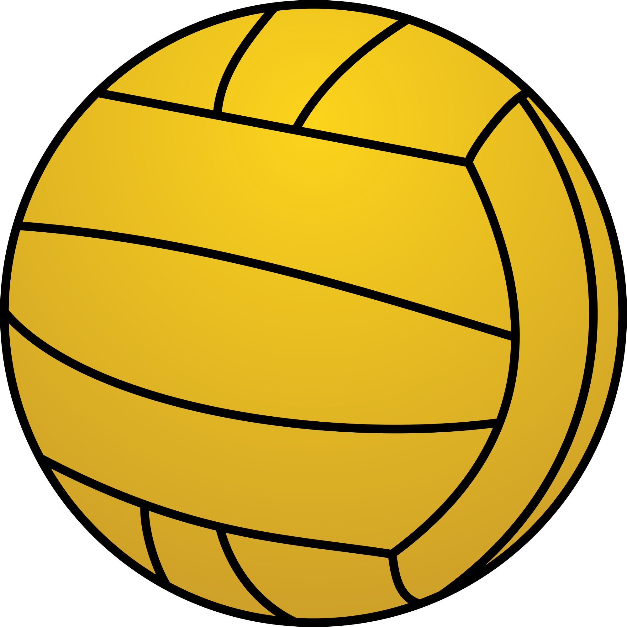 Clipart ball waterpolo. File water polo svg