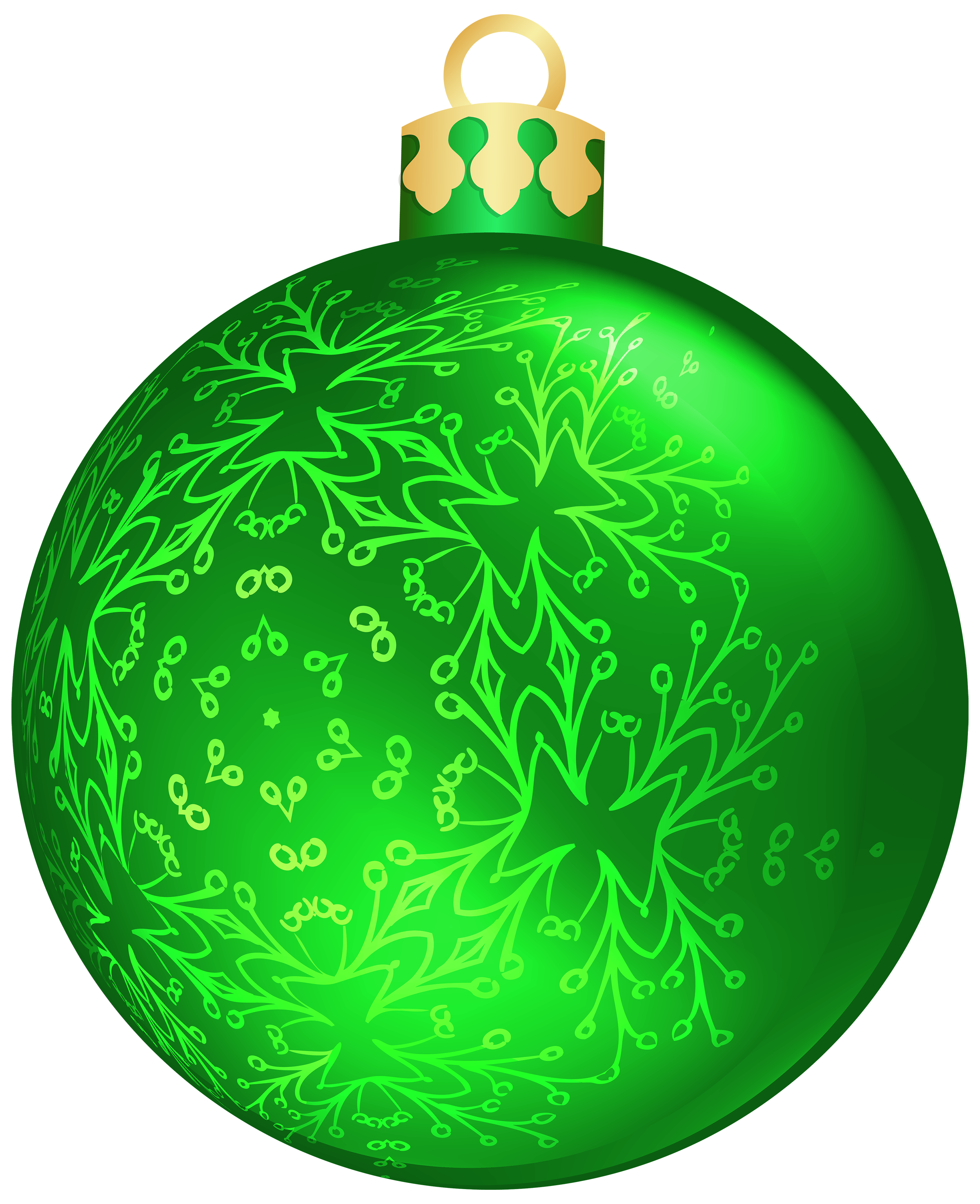 Green christmas ball png. Ornament clipart file