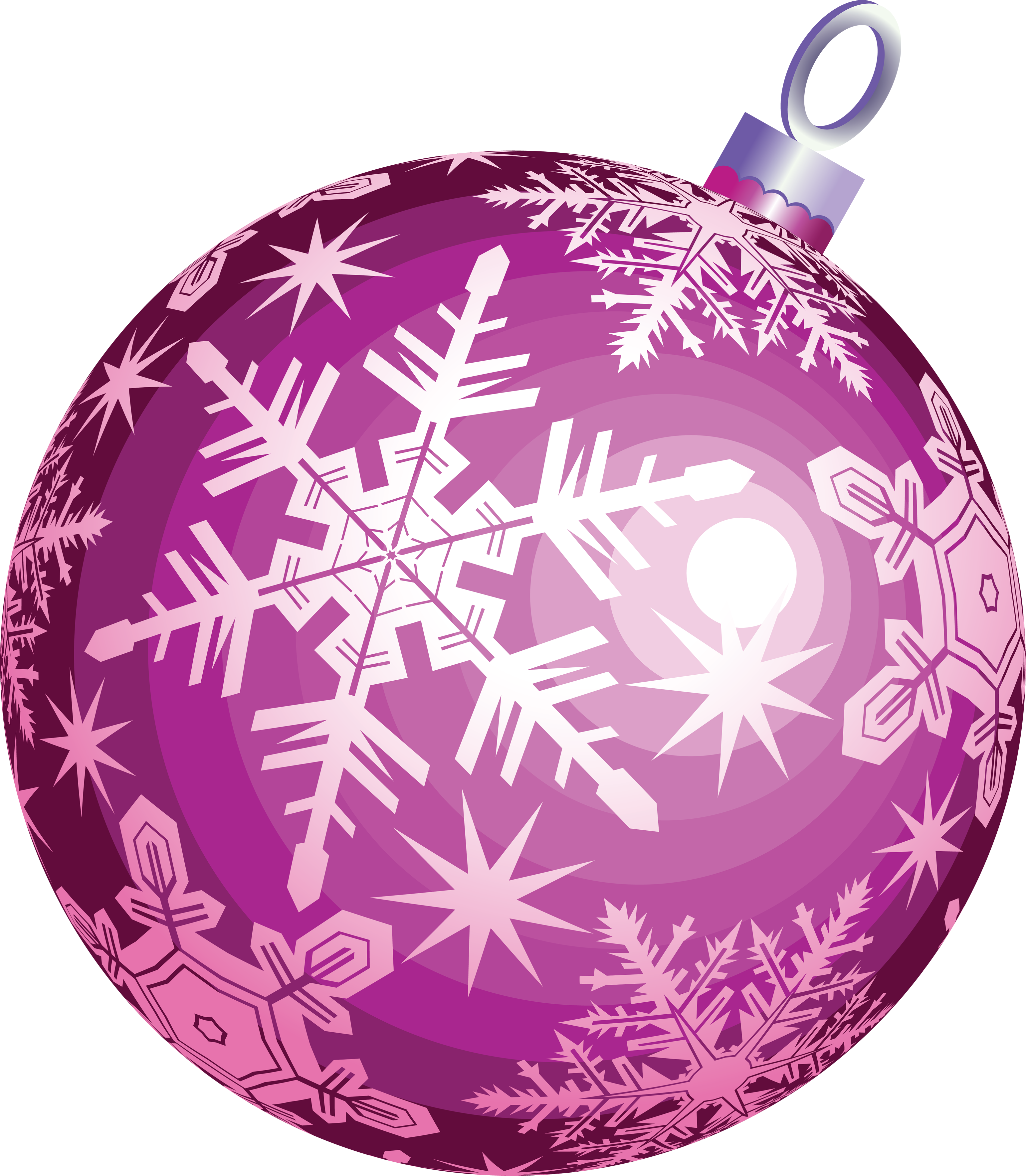 Christmas ball ornament two. Glitter clipart cute pink bow