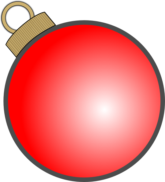 Christmas ball clip art. Ornament clipart file