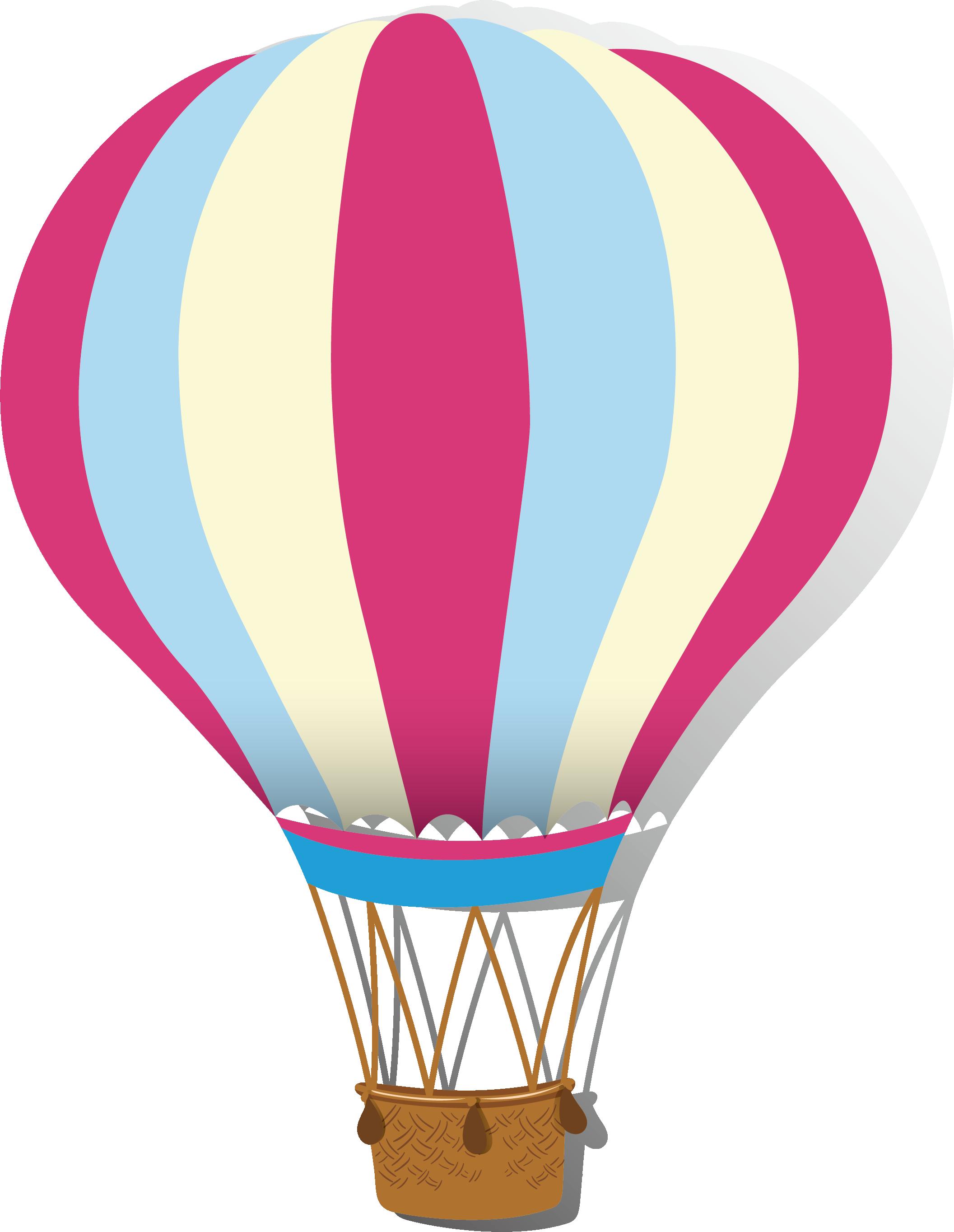 Hot air stripe transprent. Clipart balloon airplane