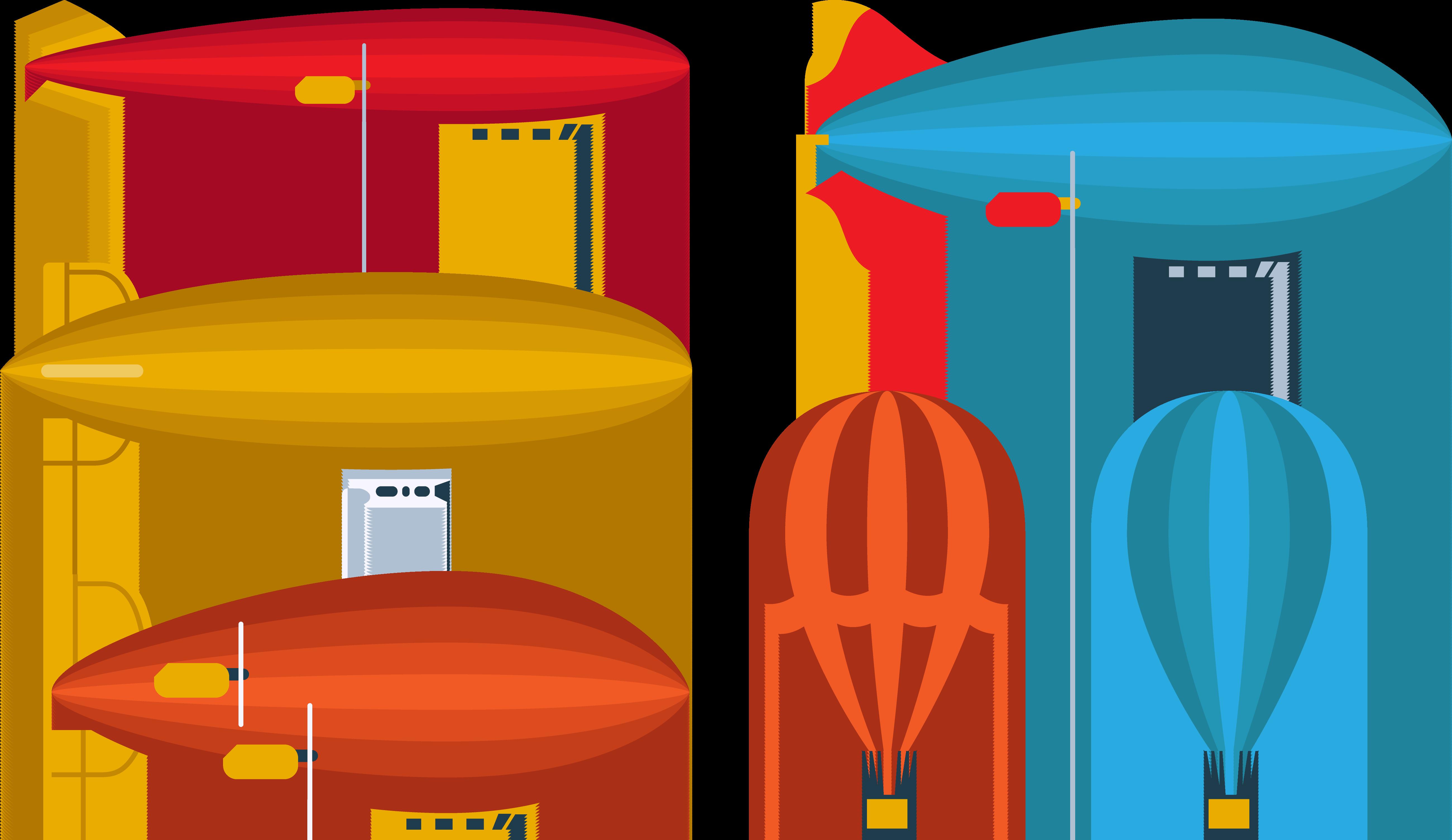 Clipart rocket balloon. Hot air airplane airship