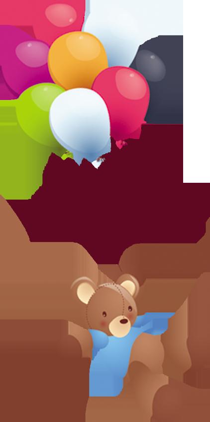Clipart balloon animation. Clip art bear transprent