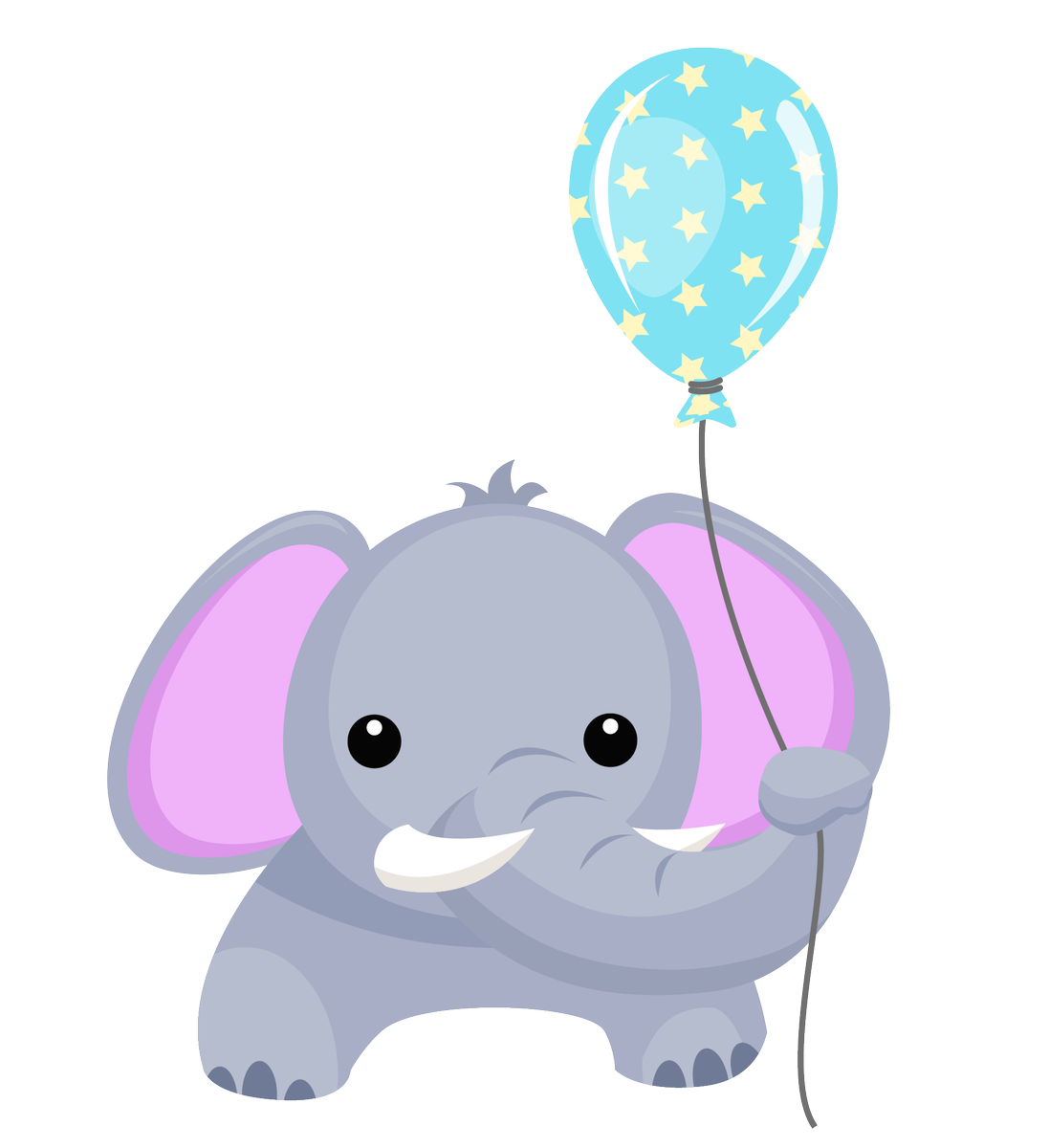 Little big crafter on. Clipart elephant balloon