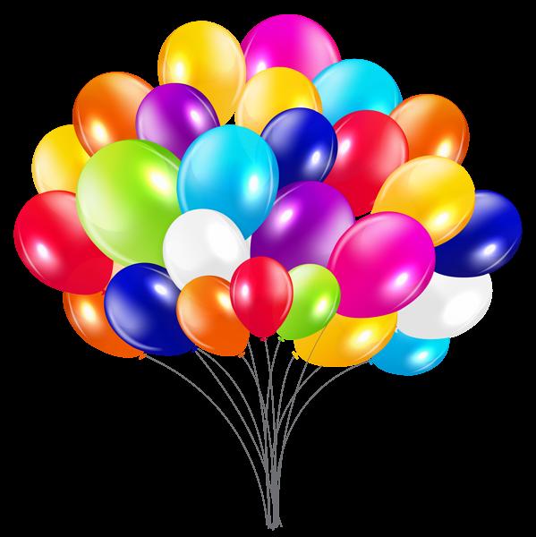 Bunch of balloons png. Clipart balloon ballon