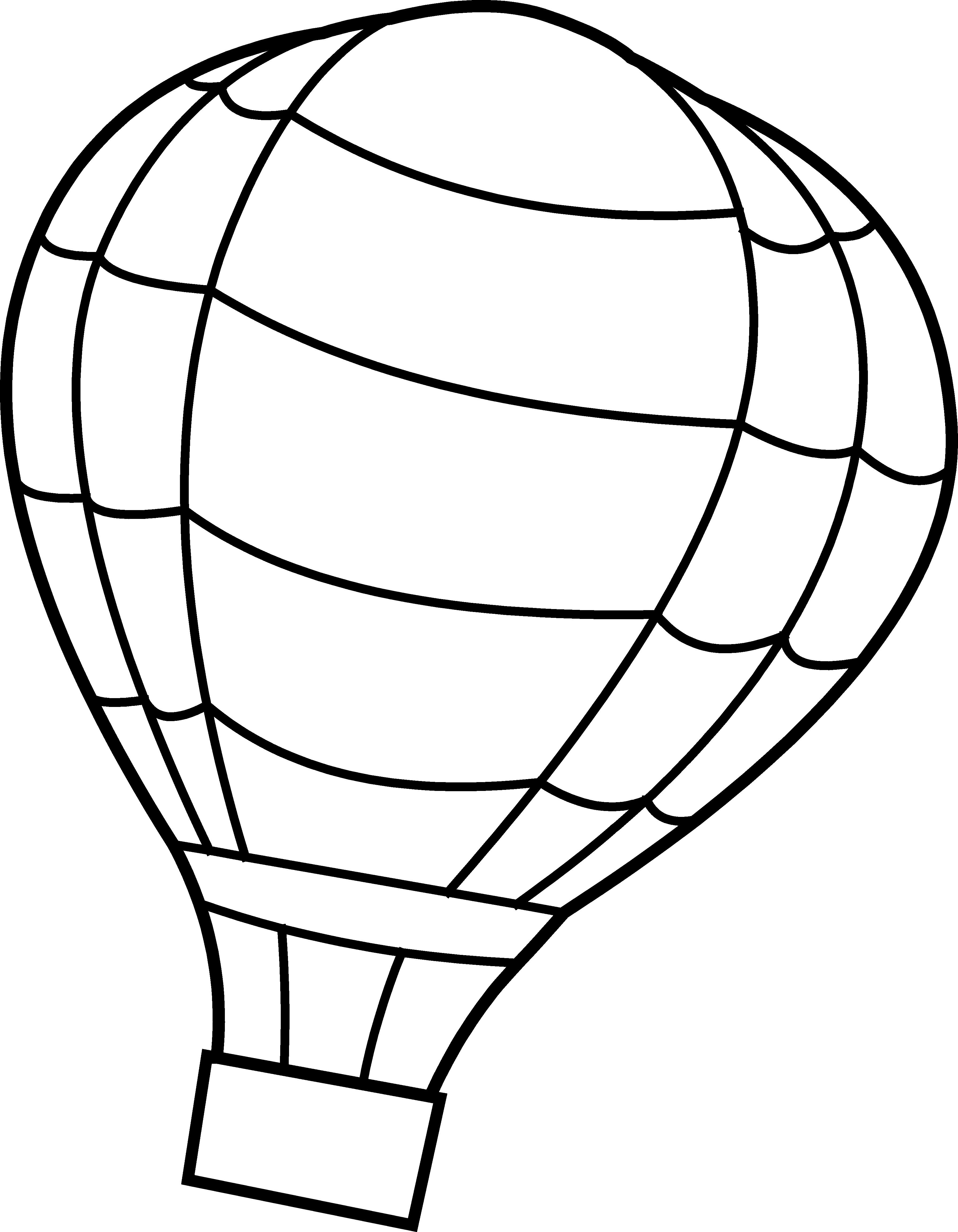 White clipart confetti. Hot air balloon basket