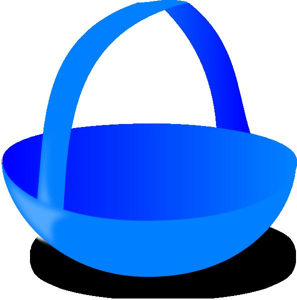 Blue clip art at. Clipart balloon basket