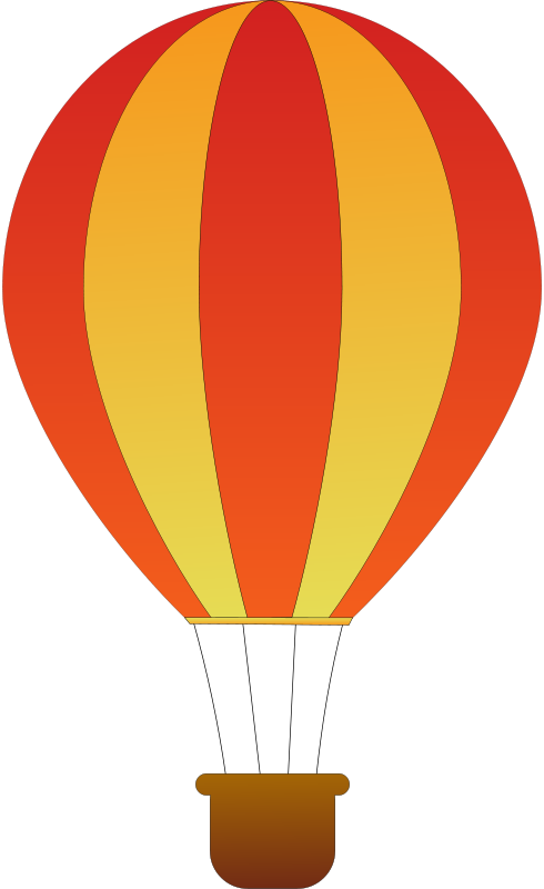 Gas clipart air ballon. Hot balloon clip art