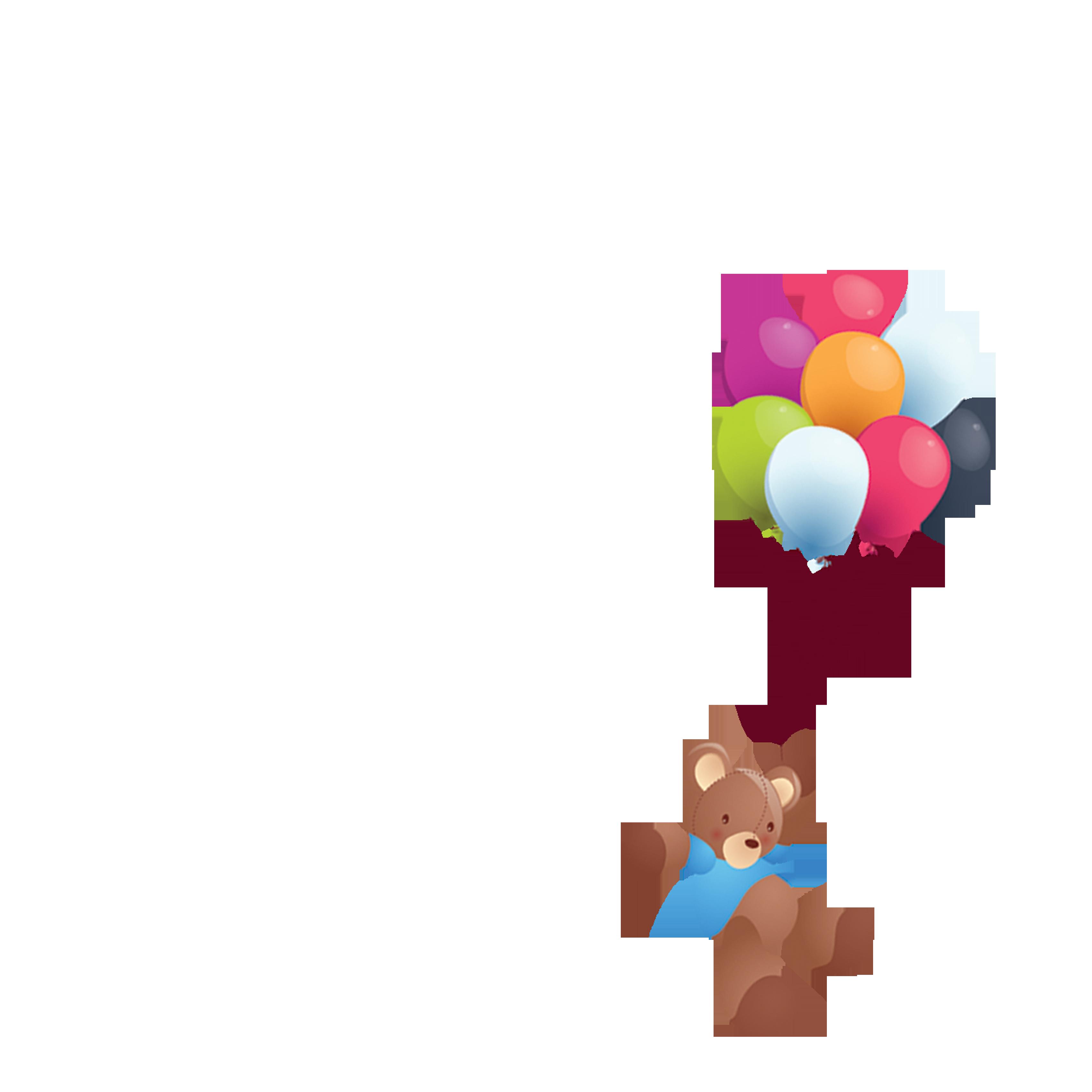 Clipart balloon bear. Clip art transprent png