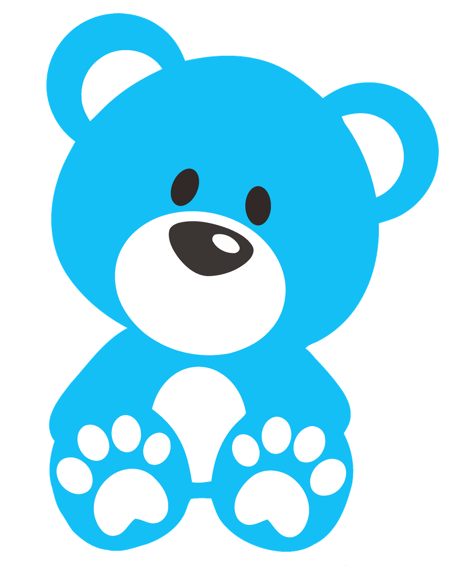 Ursinhos e ursinhas minus. Ears clipart teddy bear