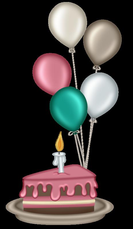 Clipart balloon birthday cake.  velitas happy pinterest