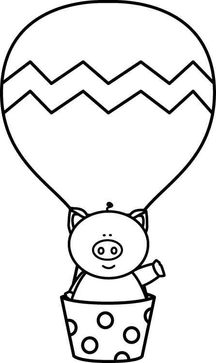 Black and white pig. Noodles clipart hot object
