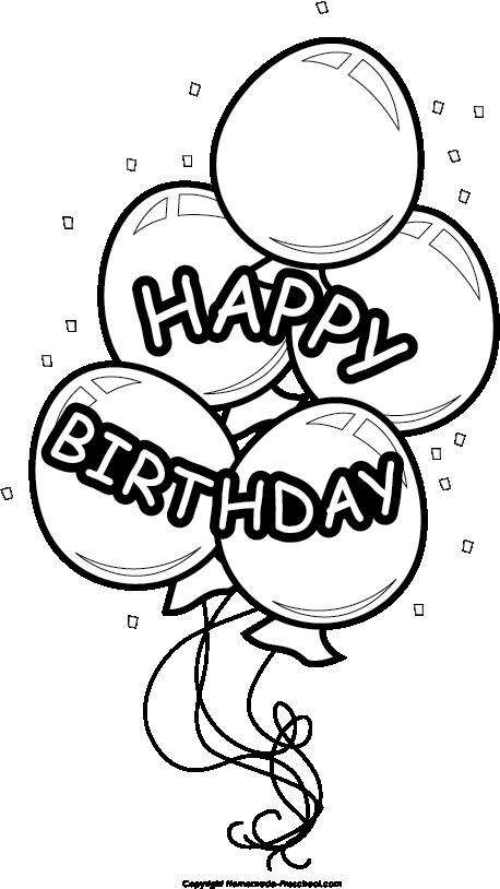 Preschool clipart birthday.  collection of balloons