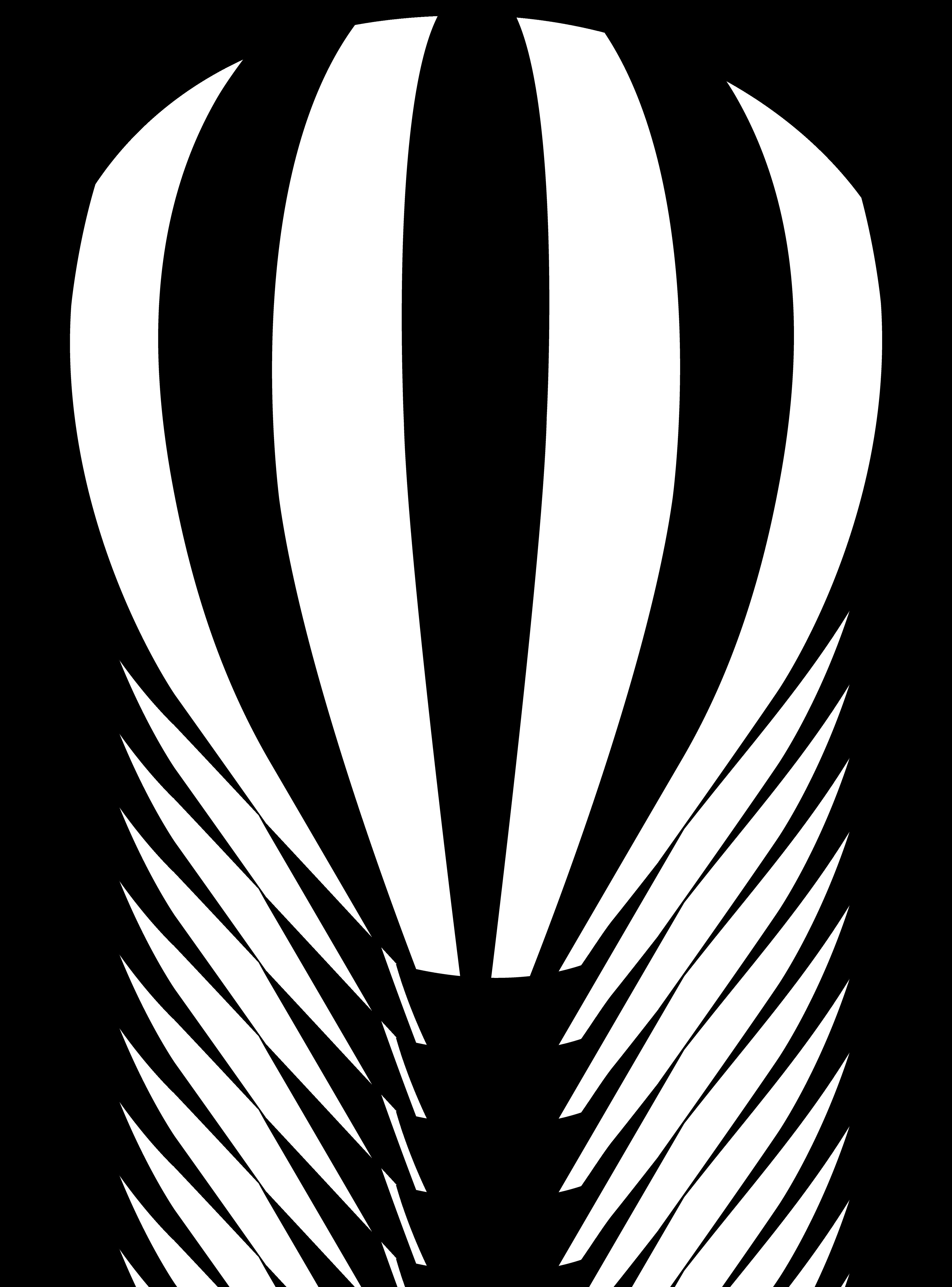 Lavender clipart hot air balloon. Black and white panda