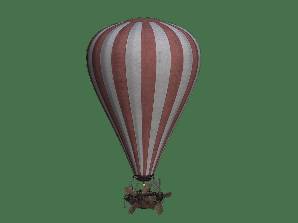 Hot air balloon simple. Clipart balloons vintage