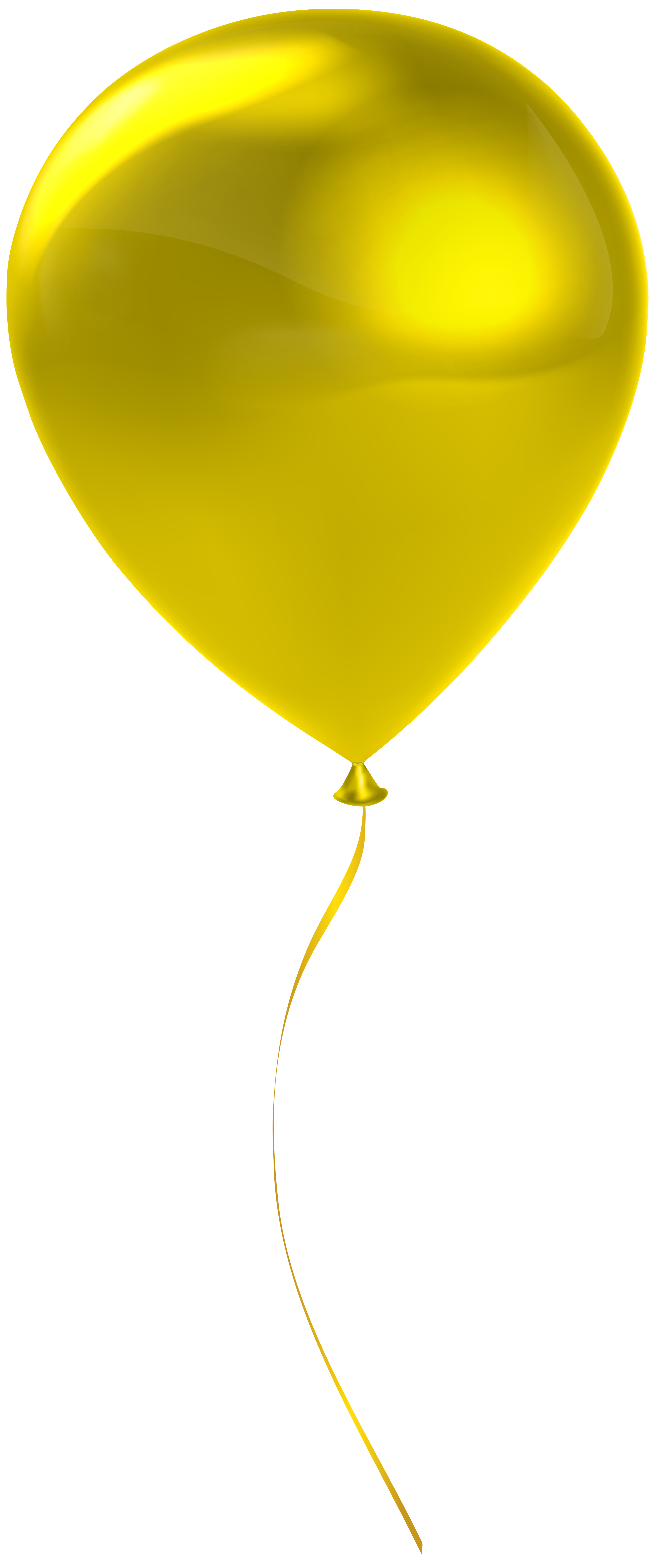 Clipart balloon brown. Single yrllow transparent clip