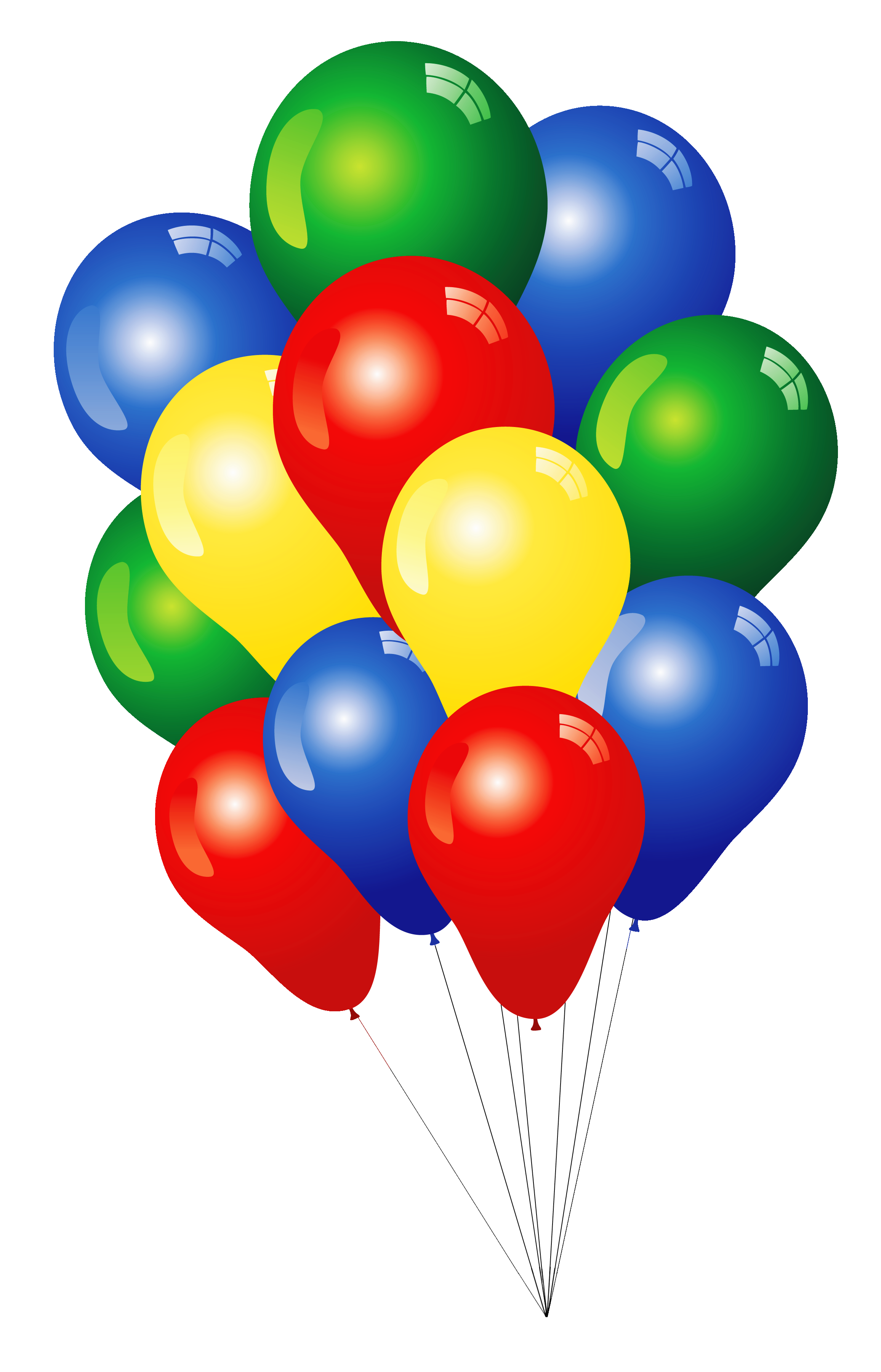 Free balloon bundle cliparts. Kindergarten clipart birthday
