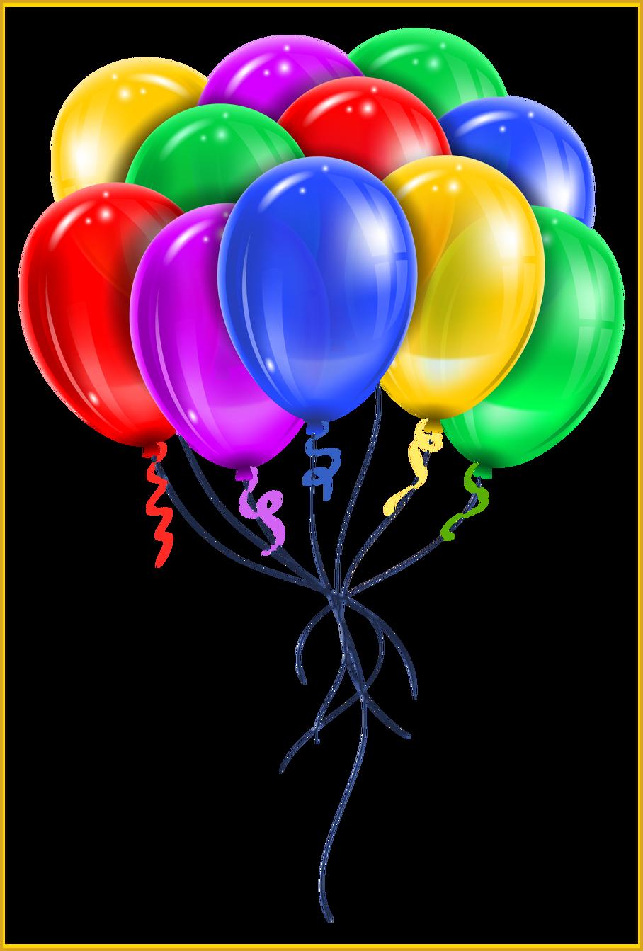 Clipart balloon bundle. The best transparent multi